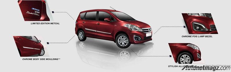 Mobil Baru, Maruti-Ertiga-Limited-Edition-exterior-features: Suzuki Ertiga Limited Edition: Ertiga Paling Mewah!