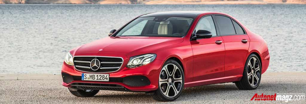 Berita, Mercedes-Benz-E-Class-front: Ini Dia Para Finalis World Car of the Year 2017!