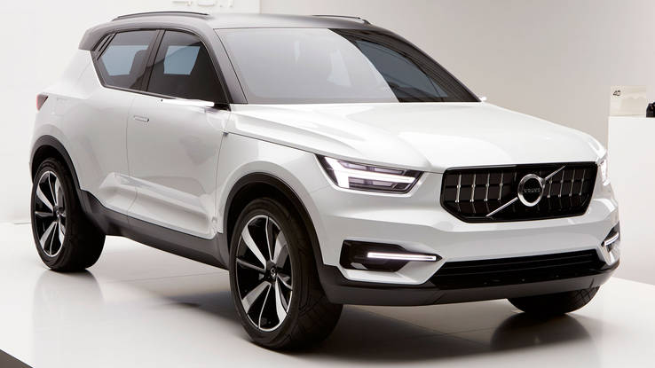 xc40 compact suv dari volvo untuk melawan x1 dan glc. Black Bedroom Furniture Sets. Home Design Ideas