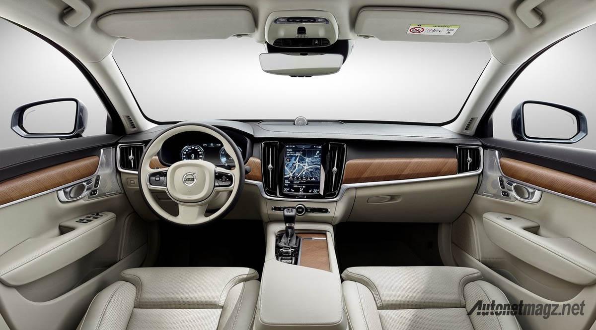 Volvo S90 Interior >> Volvo S90 2017 Interior Autonetmagz Review Mobil Dan