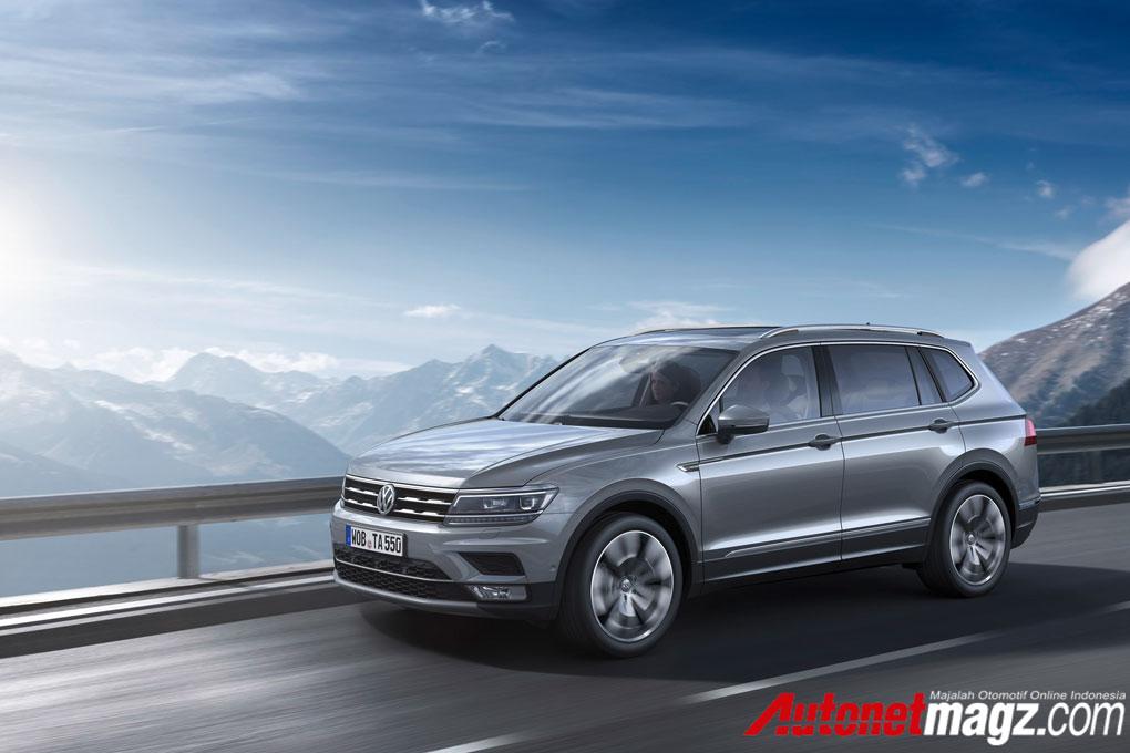 Mobil Baru, 2017-VWTiguan-Allspace-02: VW Tiguan Allspace : Tiguan Dengan 7 Tempat Duduk!