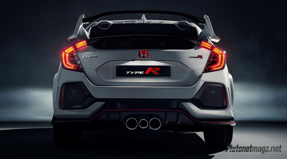 Honda, honda civic type r 2018 wallpaper: Honda Civic Type R 2018 FK8 Gaungkan Pesona VTEC Turbo!