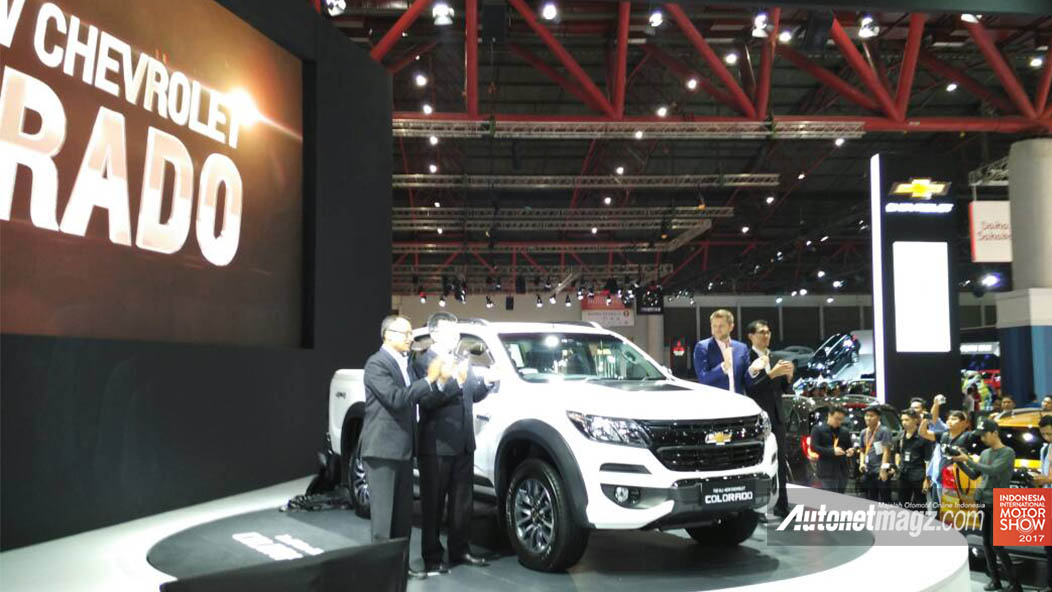 Berita, General Motor Indonesia merilis All New Chevrolet Colorado 2017.: IIMS 2017 : All New Chevrolet Colorado Diperkenalkan, Dua Trim Dengan Dua Varian Mesin