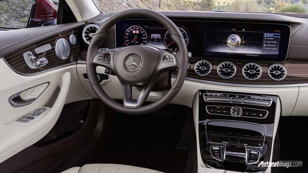 mercedes benz e class coupe 2017 interior autonetmagz review mobil dan motor baru indonesia. Black Bedroom Furniture Sets. Home Design Ideas