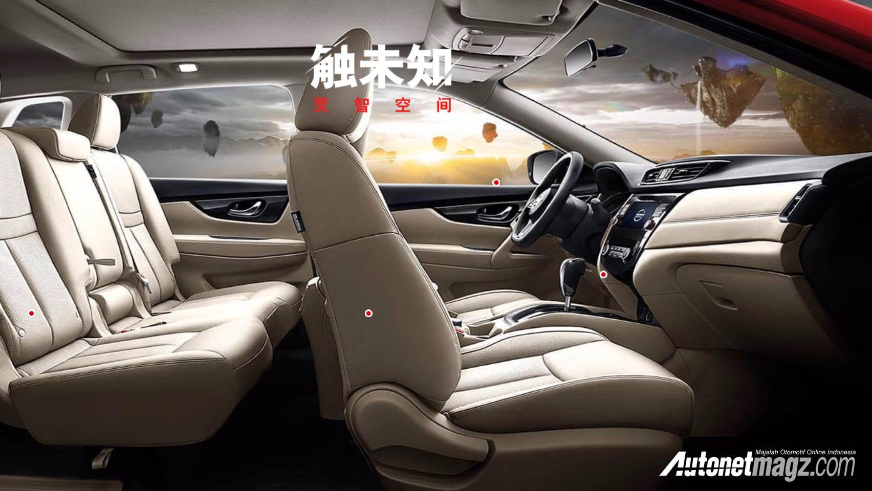 Interior nissan xtrail t32 facelift autonetmagz for Nissan x trail interior