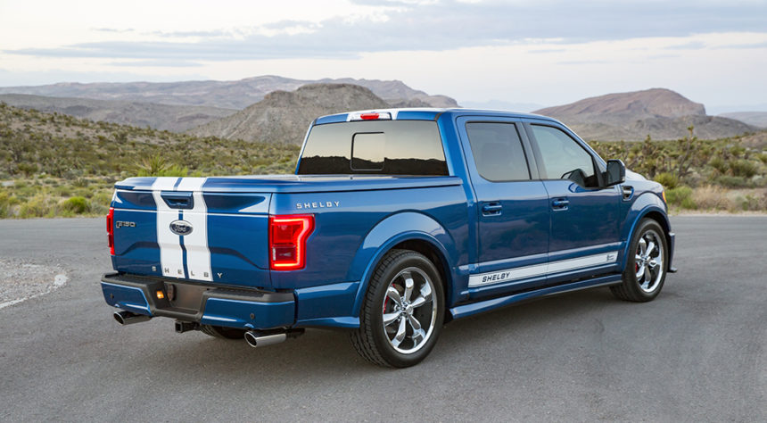 Ford Shelby F150 >> Shelby F 150 Super Snake Desis Ular Berwujud D Cab