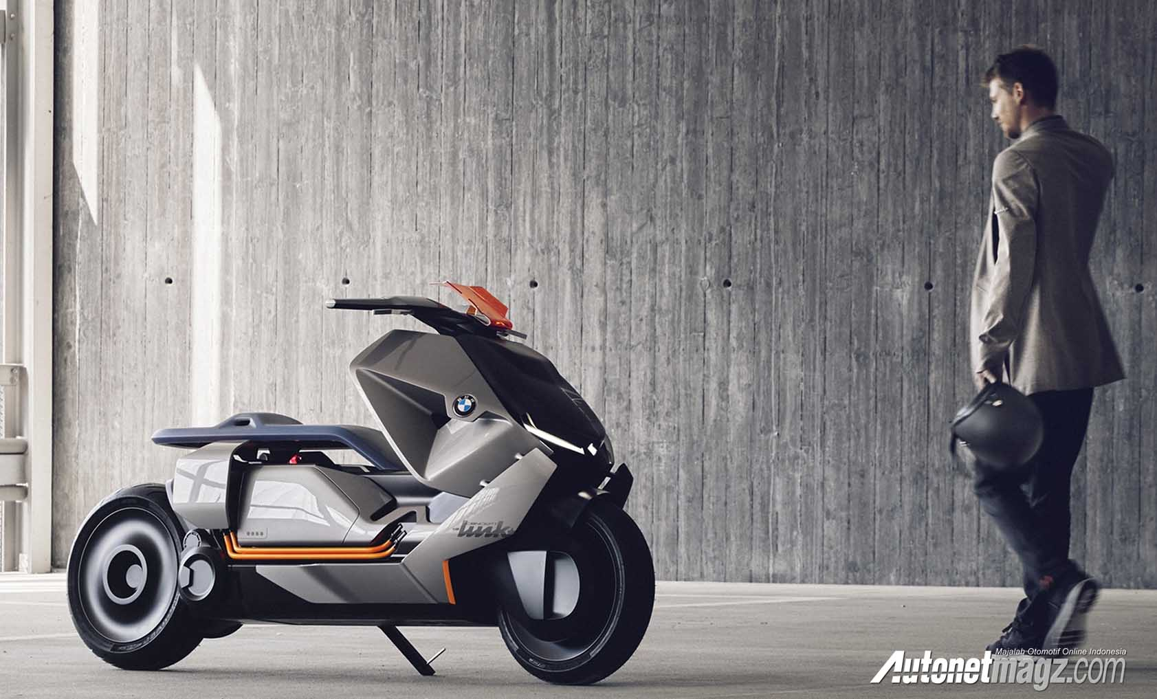 bmw motorrad concept link e scooter listrik autonetmagz. Black Bedroom Furniture Sets. Home Design Ideas