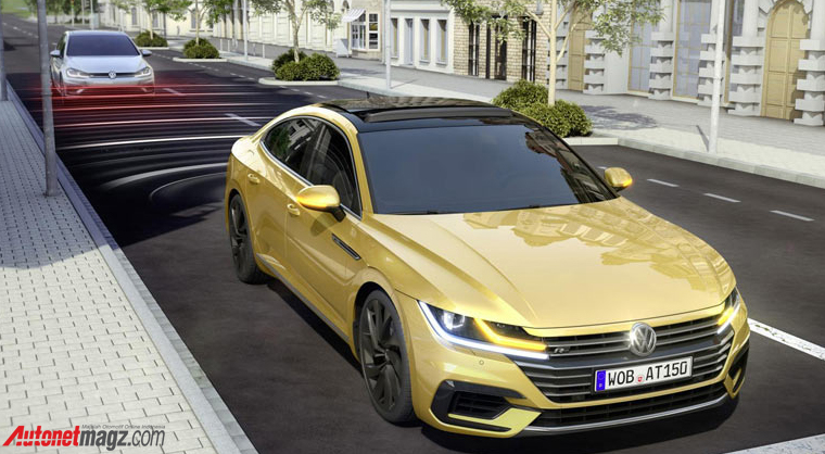 , VW-Arteon-Rear-End-Collision-: VW-Arteon-Rear-End-Collision-