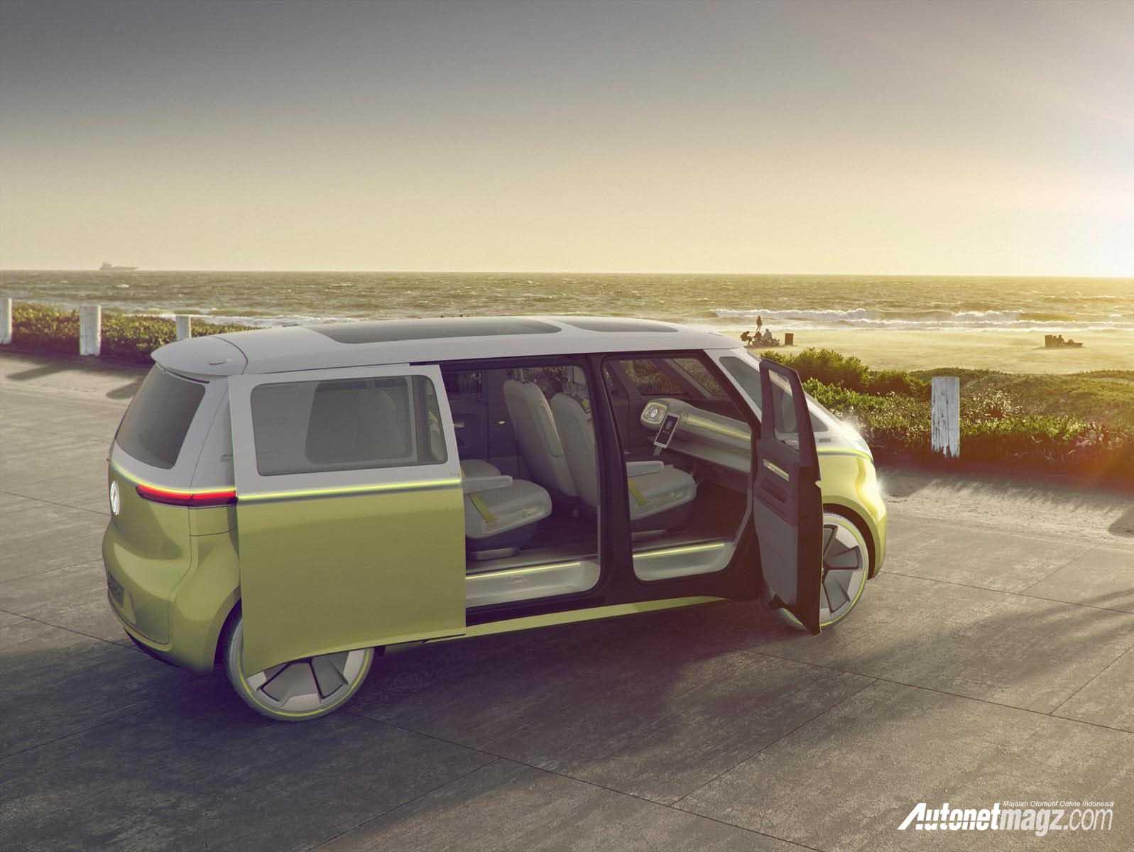 volkswagen id buzz akan diproduksi autonetmagz review mobil dan motor baru indonesia. Black Bedroom Furniture Sets. Home Design Ideas