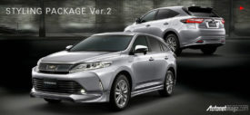 Toyota Harrier 2000 turbo belakang