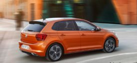 volkswagen polo 2017 mk6 indonesia orange