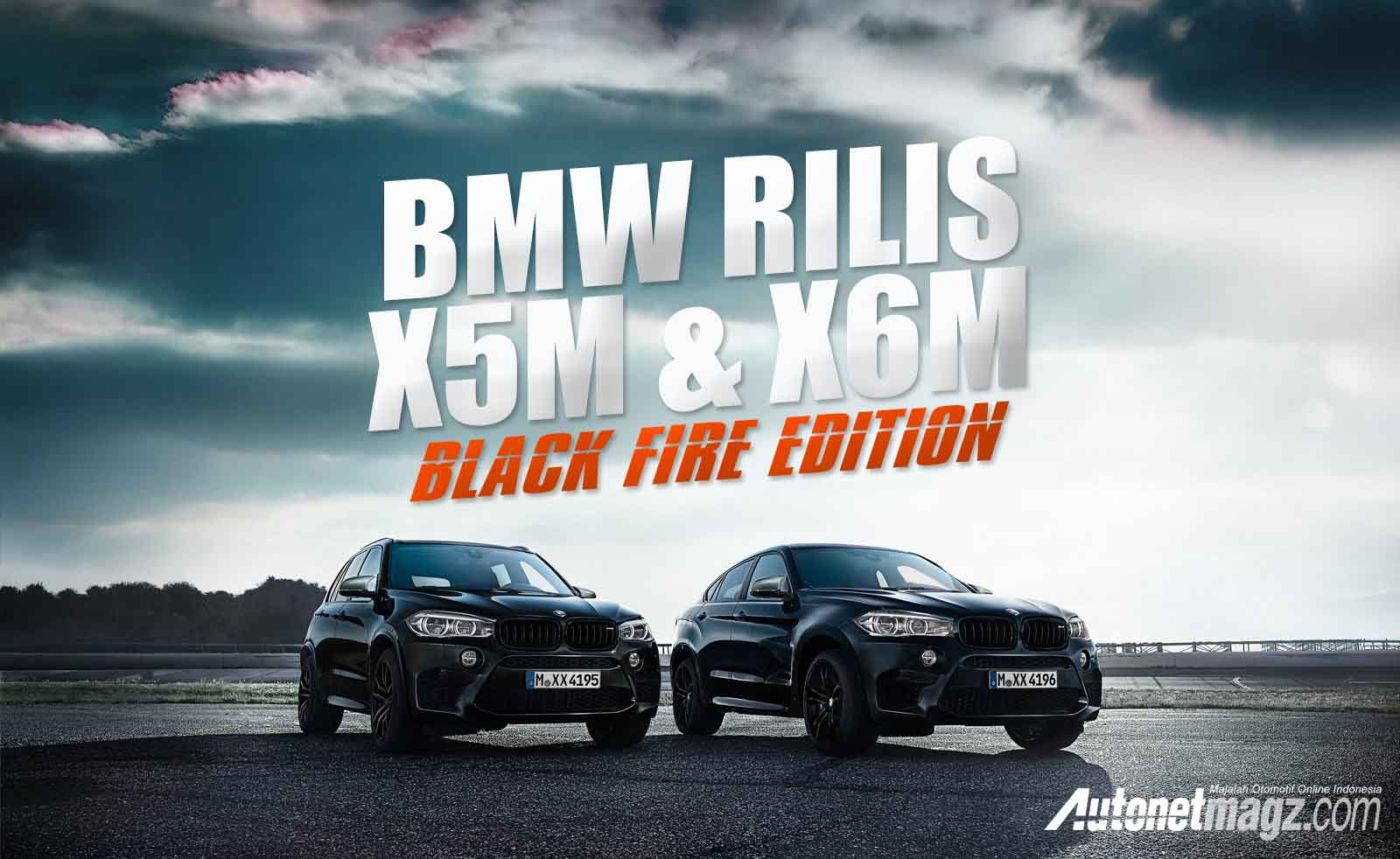 , New BMW X5 M X6 M Black Fire Editions cover: New BMW X5 M X6 M Black Fire Editions cover