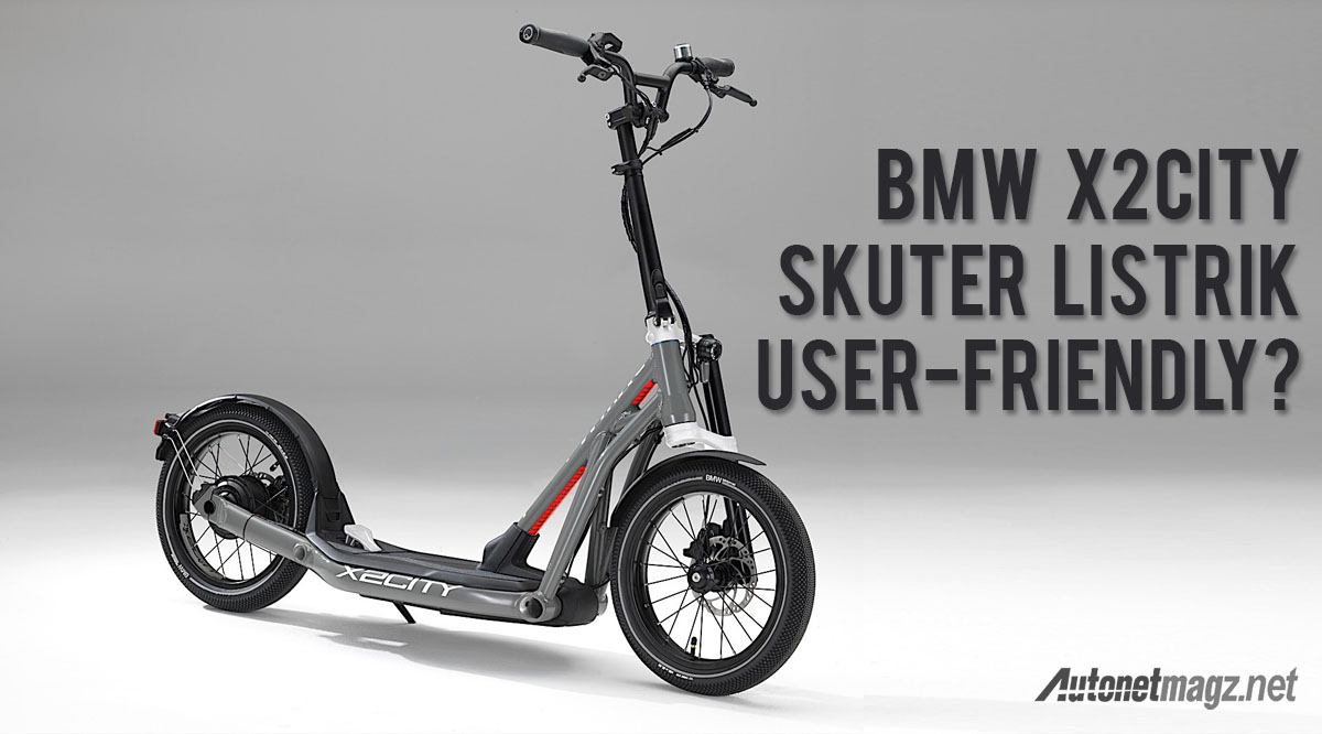 bmw x2city electric scooter autonetmagz review mobil. Black Bedroom Furniture Sets. Home Design Ideas