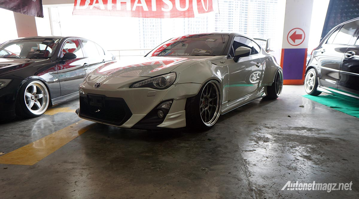 Event, hin iam mbtech 2017 toyota 86 rocket bunny: Indonesia Auto Modified MBTech 2017 Medan : Surprise!