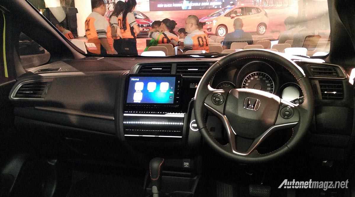 2018 honda jazz facelift. delighful jazz honda honda jazz facelift 2018 indonesia interior resmi honda jazz  facelift 2017 mengaspal throughout