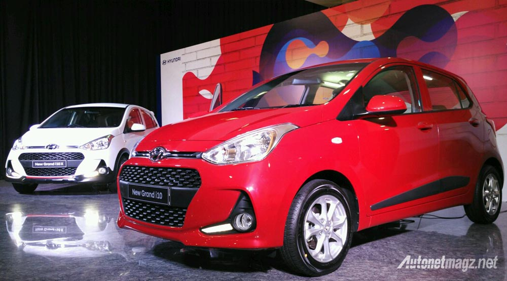 Hyundai, hyundai grand i10 facelift indonesia 2017: Hyundai Indonesia Sahkan Preview Hyundai Grand i10 Facelift