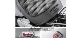 Honda Monkey 50 anniversay edition samping