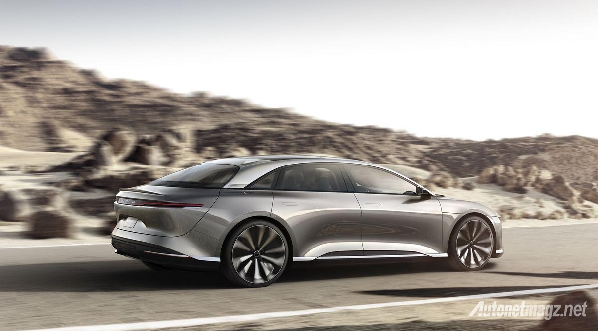 International, lucid air top speed run: Moar Electro-Shock : Lucid Air Raih Top Speed 378 Km/Jam!