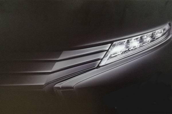 Mitsubishi, teaser mitsubishi expander indonesia 2017: Teaser Mitsubishi Expander Indonesia, Pakai Headlamp LED?
