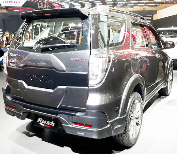 Harga All New Toyota Rush 2017-2018 Pekanbaru Riau