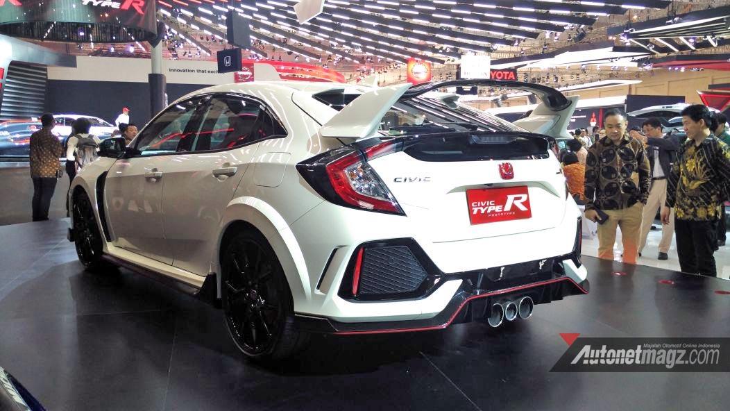 Honda Civic Type R Fk8 Indonesia Giias 2017 Samping Belakang Autonetmagz Review Mobil Dan Motor Baru Indonesia