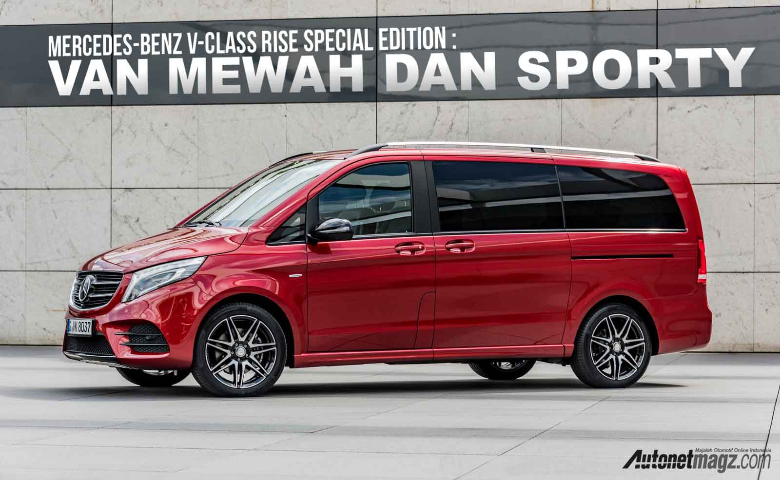 , Mercedes-Benz V-Class RISE Special Edition cover: Mercedes-Benz V-Class RISE Special Edition cover