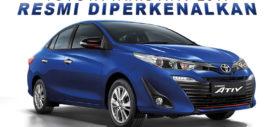 Lampu depan Toyota Yaris ATIV 2017 Thailand