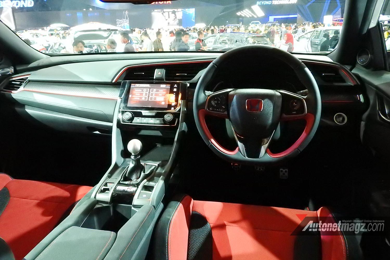 Honda Civic Type R Fk8 Indonesia Giias 2017 Interior