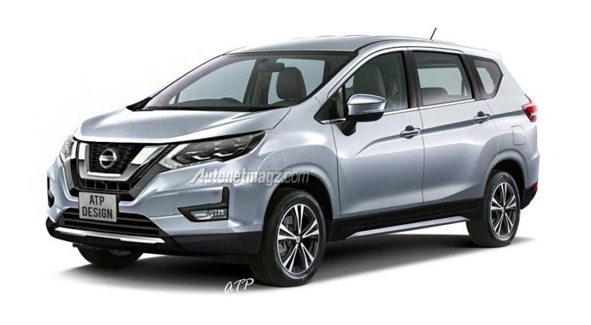 Mitsubishi Xpander Jadi Basis All New Nissan Grand Livina ...