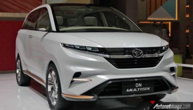 GIIAS 2017 : Daihatsu DN Multisix, Penantang Xpander Di Masa Depan