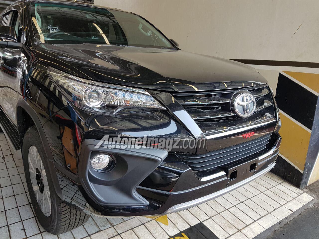 GIIAS 2017 Toyota Fortuner TRD Sportivo Fortuner Termahal