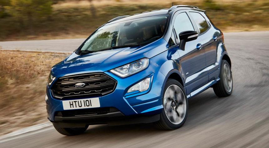 Ford Ecosport  Angkat Muka Lepas Konde