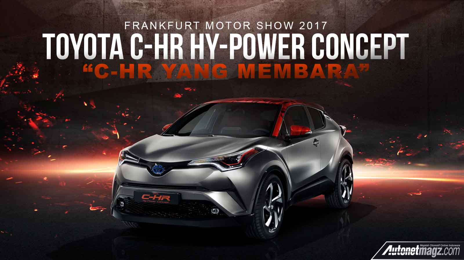 Toyota C Hr Hy Power Concept Cover