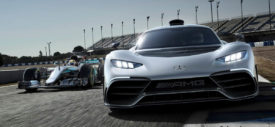 mercedes amg project one ev mode