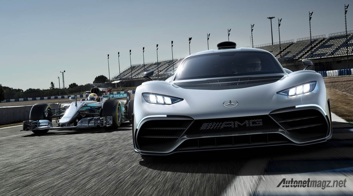 International, mercedes amg project one frankfurt debut launch: Mercedes-AMG Project One : Tangan Besi Sang Raja F1!