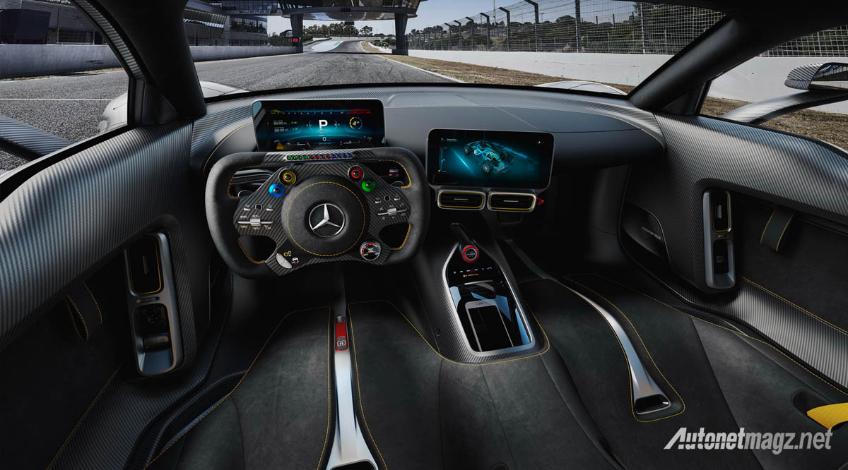 International, mercedes amg project one interior: Mercedes-AMG Project One : Tangan Besi Sang Raja F1!