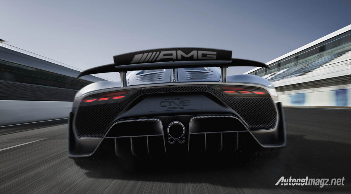 International, mercedes amg project one spoiler: Mercedes-AMG Project One : Tangan Besi Sang Raja F1!