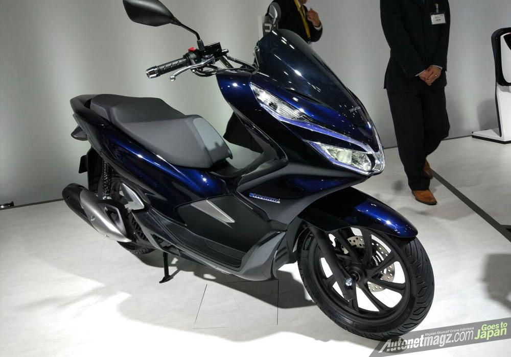 Honda pcx hybrid autonetmagz review mobil dan motor for Honda pcx 2017