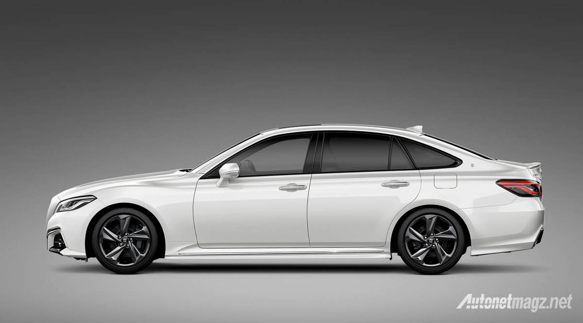 International, toyota crown concept 2018 side: Toyota Crown Concept, Calon Generasi Baru Mobil Menteri