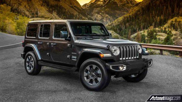 Diesel Jeep Wrangler >> Jeep Wrangler 2018 Mesin Mild Hybrid Turbo Dengan Bobot