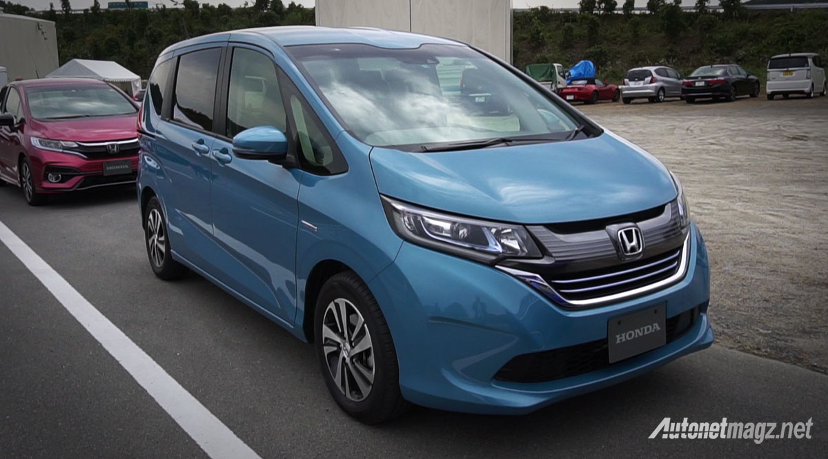 First Impression Review Honda Freed Hybrid 2017 JDM-Spec ...