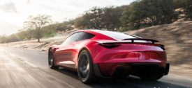 tesla roadster 2020 rear