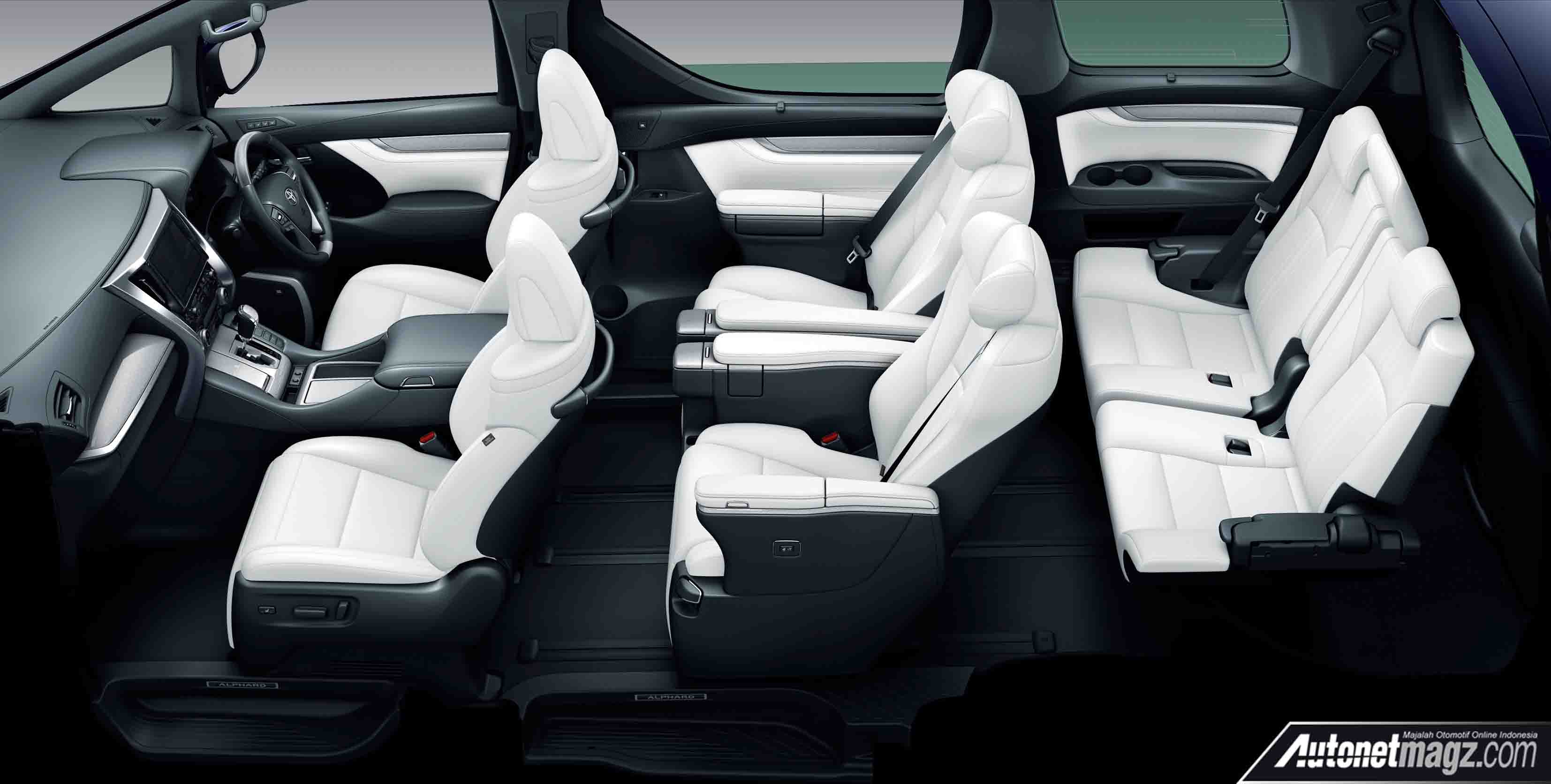 Interior Nappa White Toyota Alphard Vellfire Facelift 2018 Autonetmagz Review Mobil Dan Motor Baru Indonesia