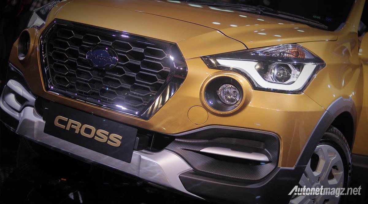 Datsun, datsun cross 2018 front fascia: First Impression Review Datsun Cross 2018