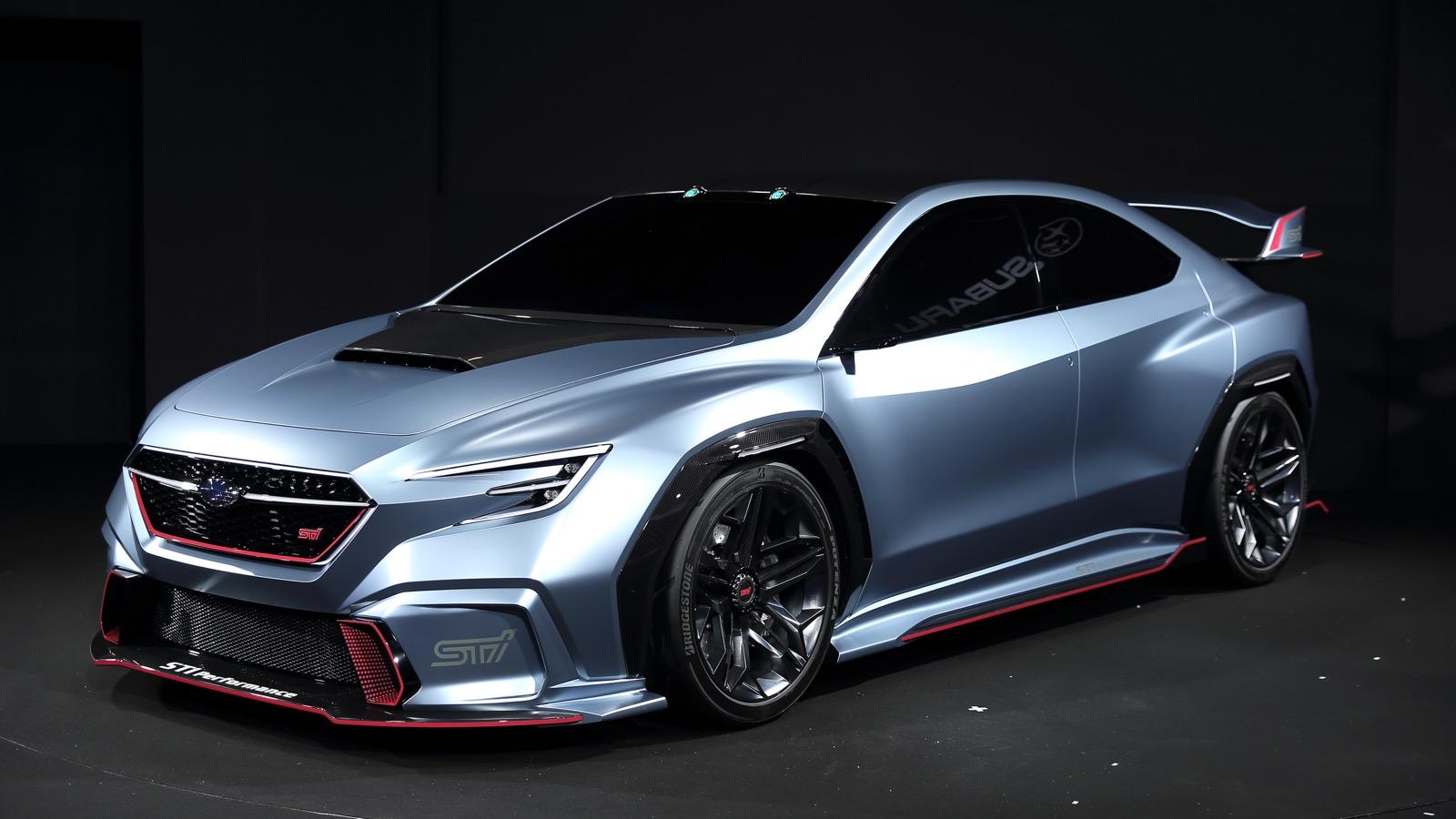 Subaru Viziv Sti Performance Concept Titik Awal Wrx Sti Autonetmagz