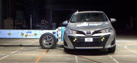 toyota yaris ativ crash test asean ncap