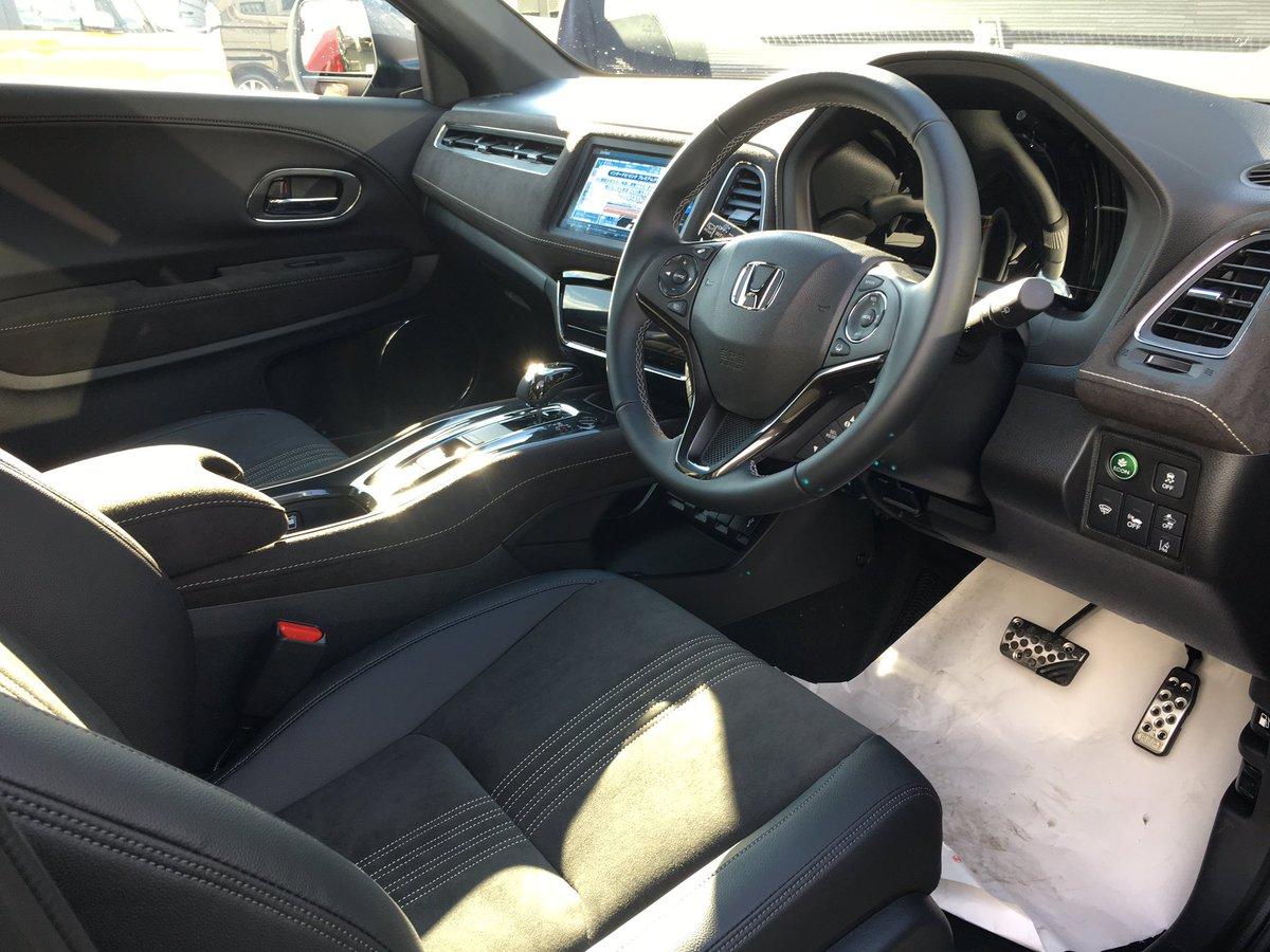 Interior honda hr v facelift 2018 for Honda hr v interieur