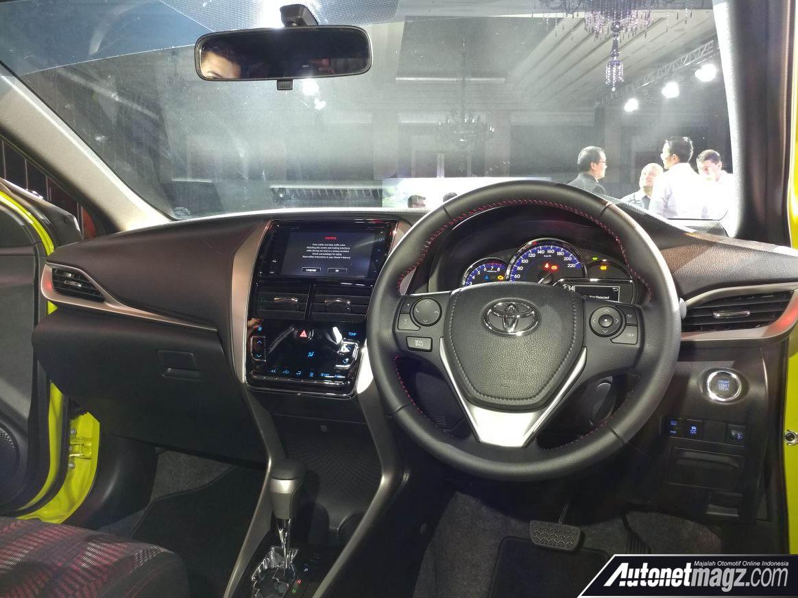 interior toyota yaris facelift 2018 autonetmagz