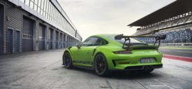 porsche 911 gt3 rs 2018 green side