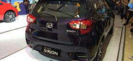 sisi depan All New Daihatsu Sirion